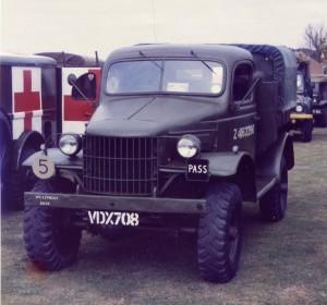 Dodge D8A 8cwt Truck (VDX 708)