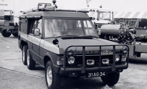Land Rover Gloster Saro TACR 2A (31 AG 34)