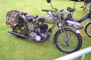 BSA M20 500cc 1943 (189 XUF)