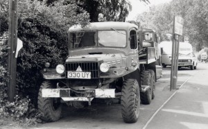 Dodge WC-63 Weapons Carrier 6x6 (330 UY)