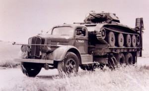 White 920 18Ton 6x4 Tank Transporter (US)
