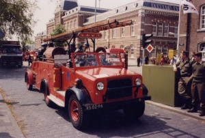 Bedford MWD 15cwt Conversion Netherlands Fire Brigade (RS-02-96)