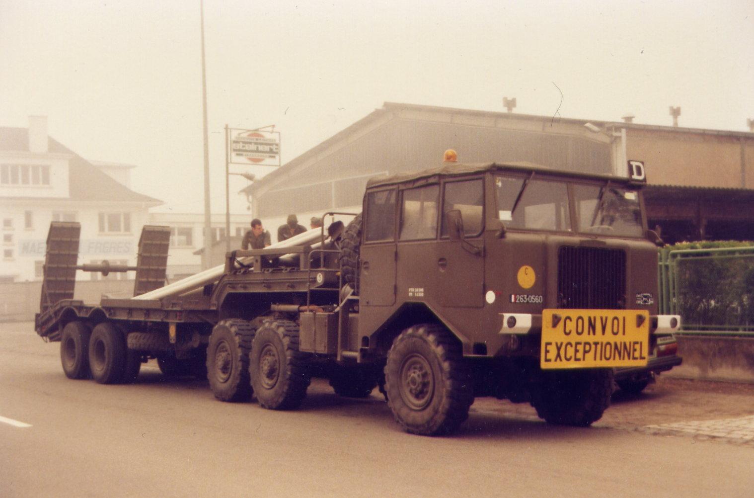 Berliet TBU15 6x6 Tractor
