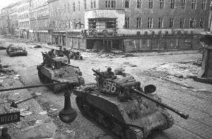 Berlin May-June 1945 (87) Russian Sherman Tanks