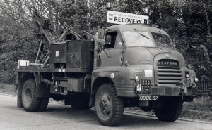 Bedford RL 3Ton 4x4 Wrecker (00 DL 97)