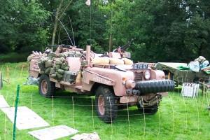 Land Rover S2 109 SAS Pink Panther (10 FG 57)