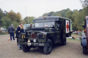 Land Rover S2 Ambulance (RTT 490 H)