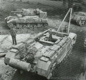 Churchill Recovery Tank