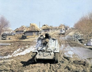 Marder I SPG in Russian Mud, from Miliblog's Tank Collection