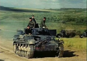 Panzer IV at Speed in Russia