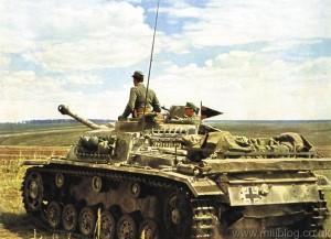 Stug III in Russia