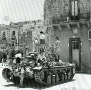 Valentine Tank in Malta