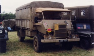 Bedford RL 3Ton 4x4 Mine-Armoured Cab (AVG 113 D)