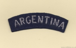 RAF Argentina Patch