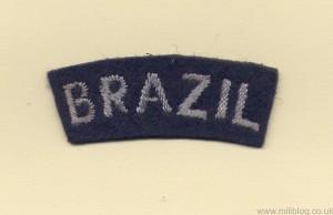 RAF Brazil Patch