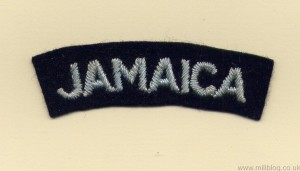 RAF Jamaica Patch