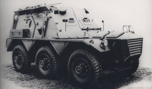 Alvis Saracen GPO (Gun Position Officer) Armoured Command