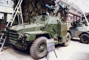 Humber 1Ton Hornet Air-Portable Malkara Missile Launcher (06 BK 66)