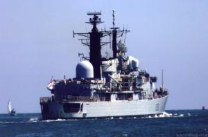 D90 HMS Southampton