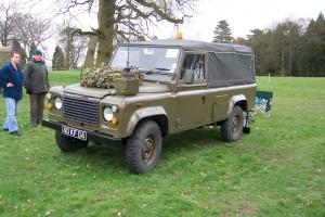 Land Rover 110 Defender (40 KF 04)