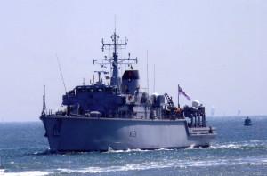 M33 HMS Brocklesby