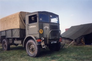 Austin K5 3Ton GS (KFF 980) in the 1990s