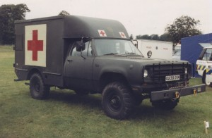 Dodge Power Wagon 4x4 Ambulance (Q 239 GVM)