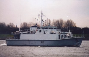 HMS Inverness (M102) Sandown Class Minehunter