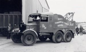 Scammell Pioneer R100 Gun Tractor (HVW 77)