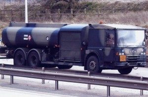 Dennis 6x4 Aircraft Refuelling Tanker (NJ 87 AA)(Copyright of JE Peckmore)