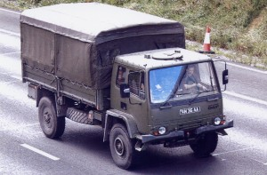 Leyland Daf 4Ton Cargo (AN 36 AA)(Copyright of JE Peckmore)