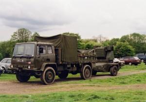 Leyland Daf 4Ton Rapier Support (09 KL 88)
