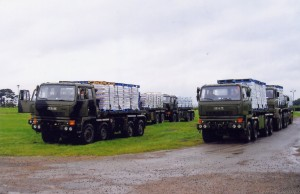 Leyland Daf 8x8 Drops (76 KH 86 + 88 KH 22)(Copyright of Colin Martin)