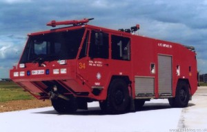 Unipower Alvis RW 4x4 Fire Tender (RH 01 AA)